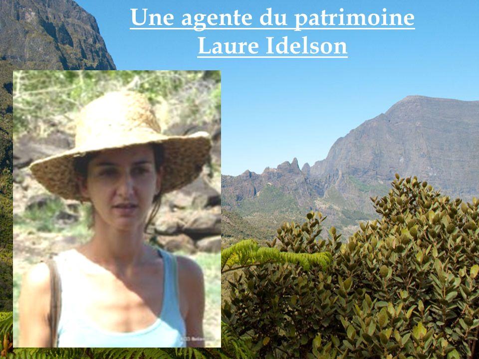 Une agente du patrimoine Laure Idelson