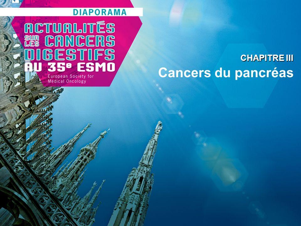 CHAPITRE III Cancers du pancréas