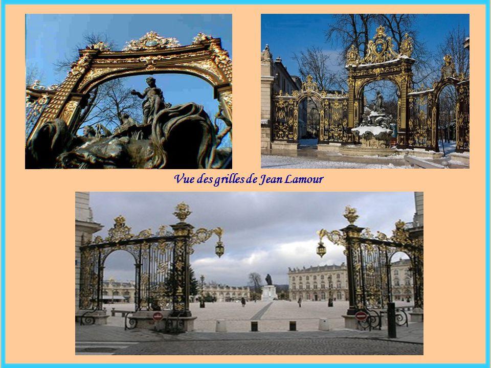 Vue des grilles de Jean Lamour
