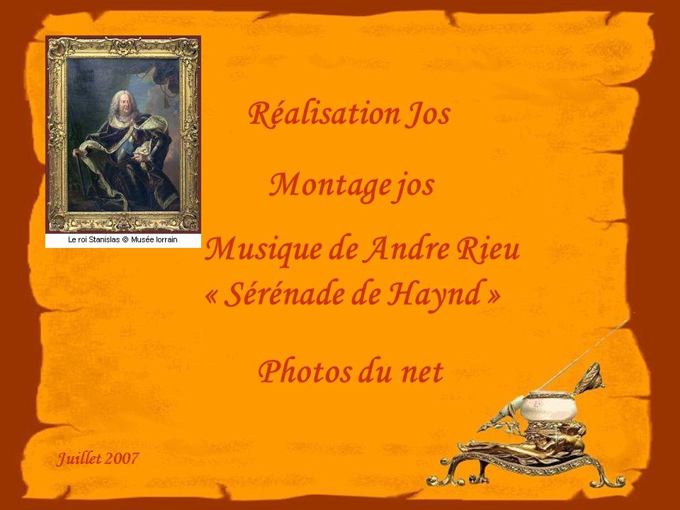 Réalisation Jos Montage jos Musique de Andre Rieu