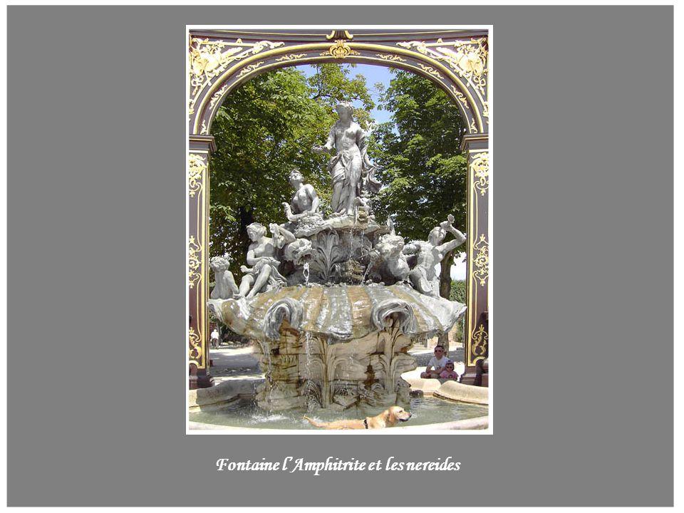 Fontaine l'Amphitrite et les nereides