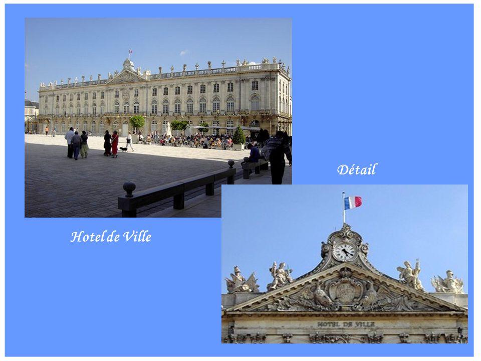 Détail Hotel de Ville