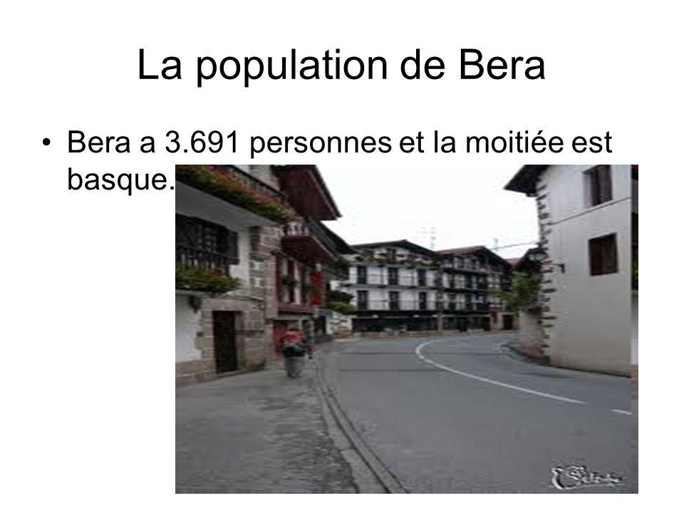 La population de Bera Bera a 3.691 personnes et la moitiée est basque.