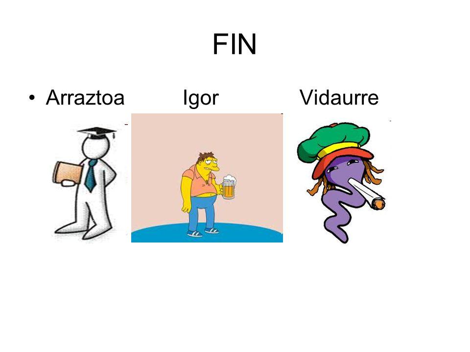 FIN Arraztoa Igor Vidaurre