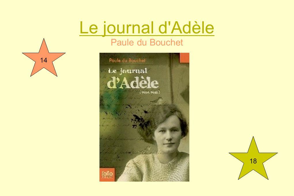 Le journal d Adèle Paule du Bouchet