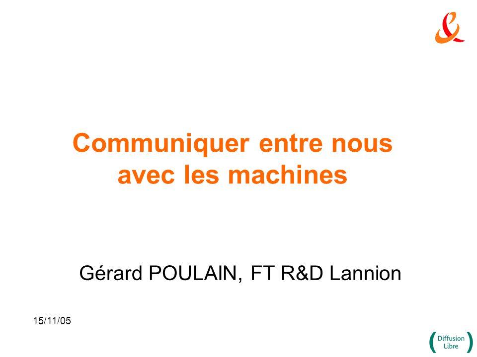 Communiquer entre nous avec les machines