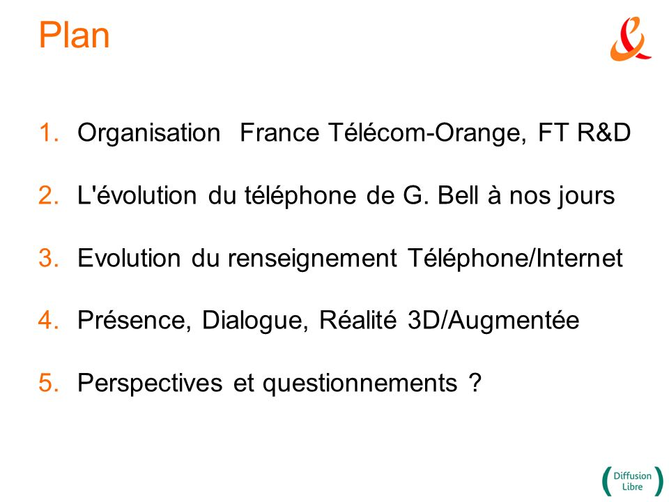Plan Organisation France Télécom-Orange, FT R&D