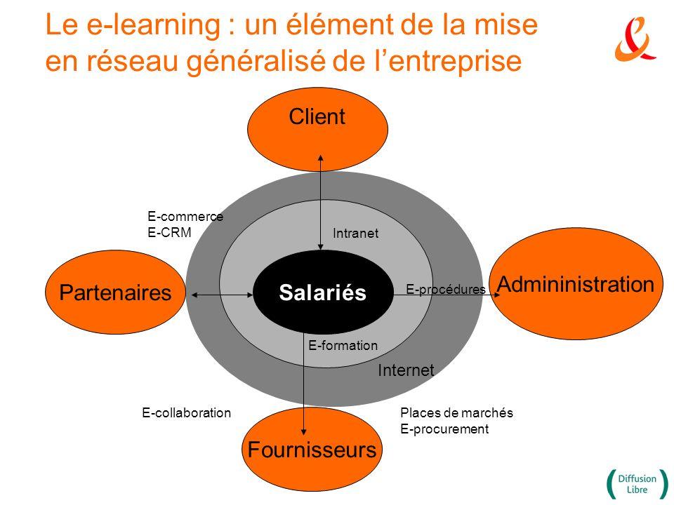 Le e-learning : un élément de la mise en réseau généralisé de l'entreprise