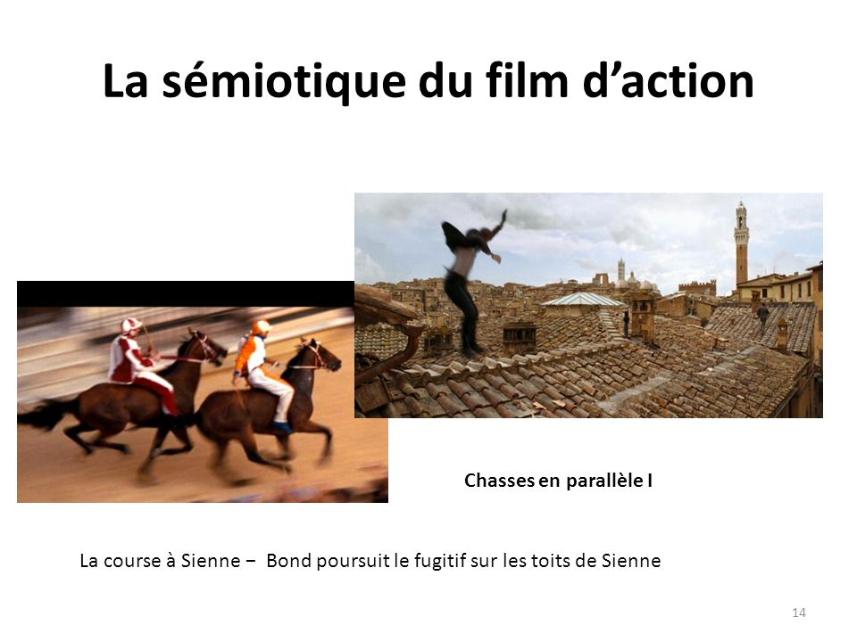 La sémiotique du film d'action