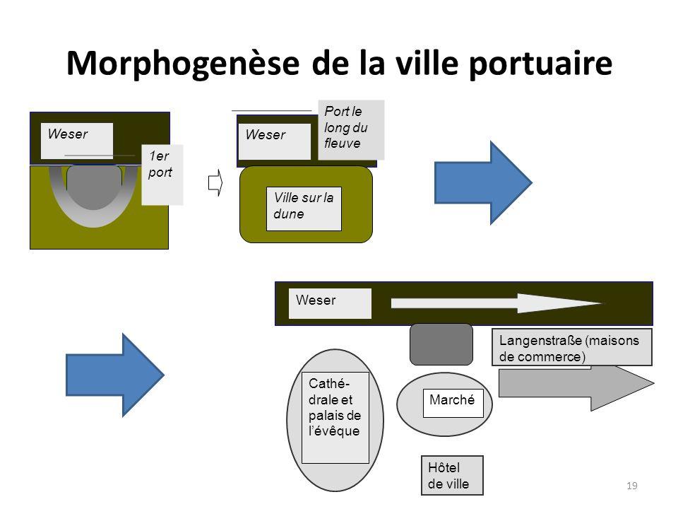 Morphogenèse de la ville portuaire