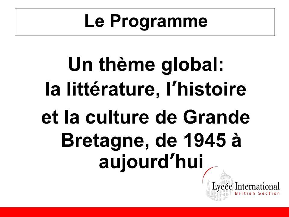 la littérature, l'histoire