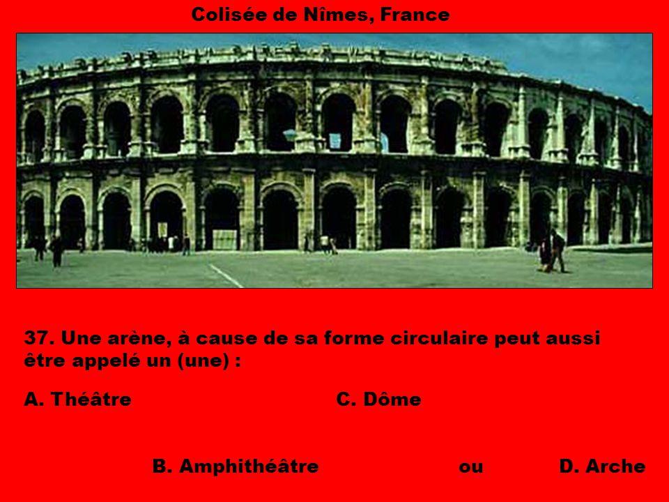 Colisée de Nîmes, France