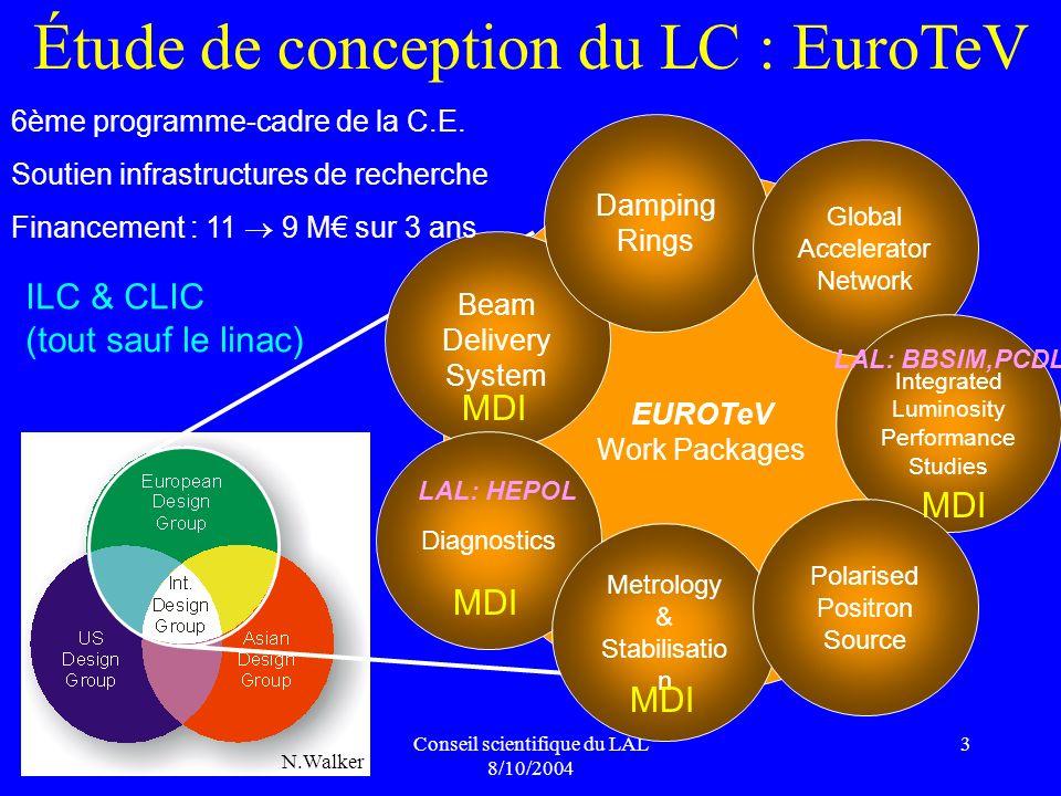 Étude de conception du LC : EuroTeV