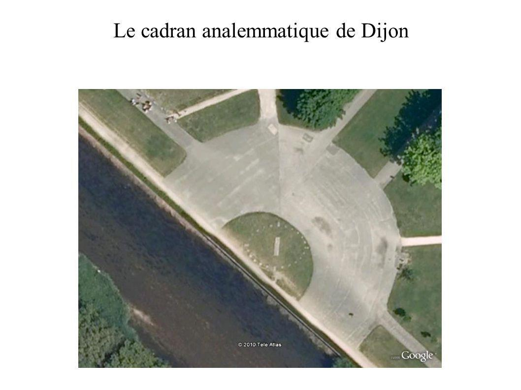 Le cadran analemmatique de Dijon