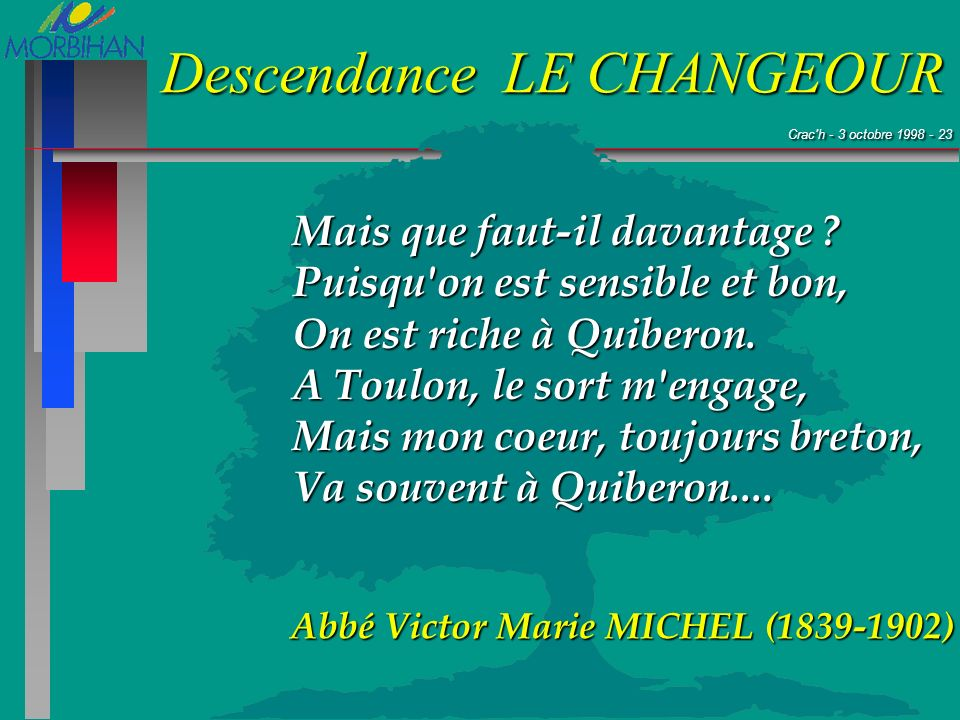 Abbé Victor Marie MICHEL (1839-1902)