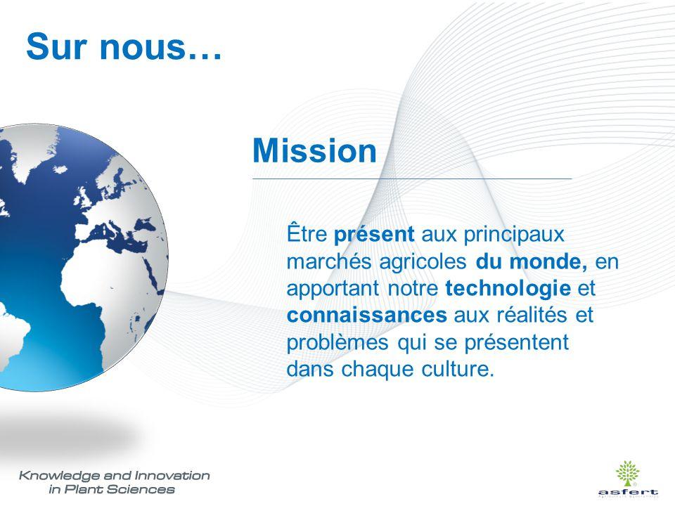 Sur nous… Mission.