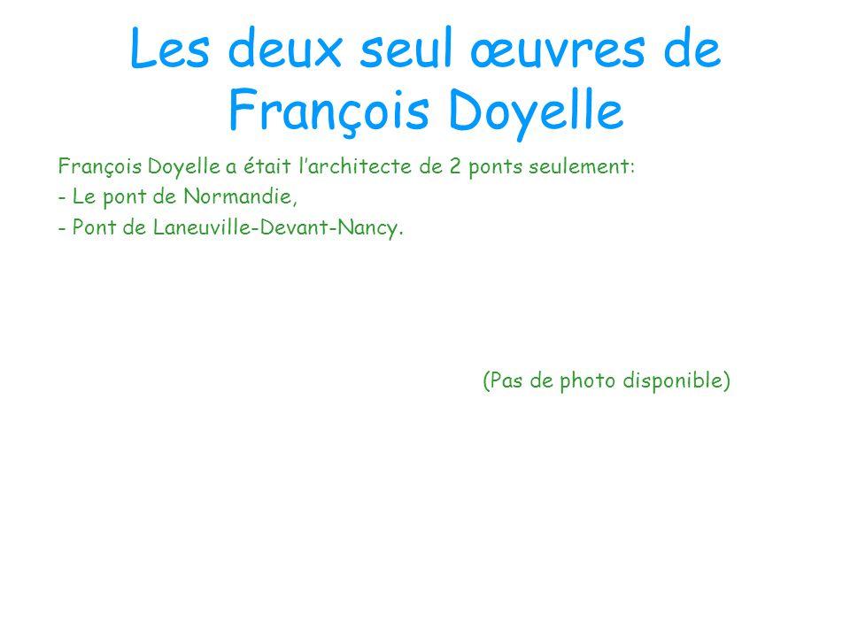 Les deux seul œuvres de François Doyelle