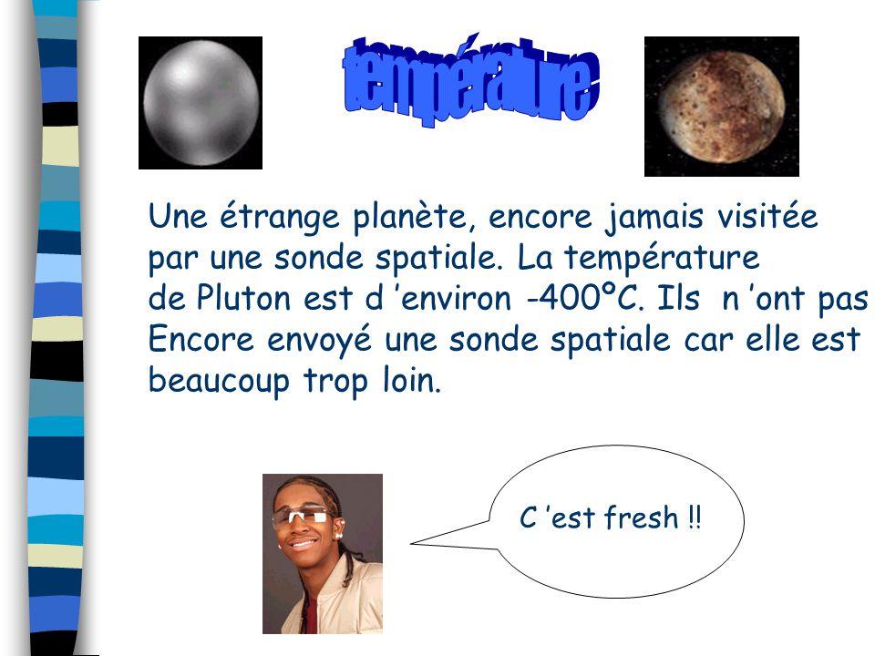 température Une étrange planète, encore jamais visitée