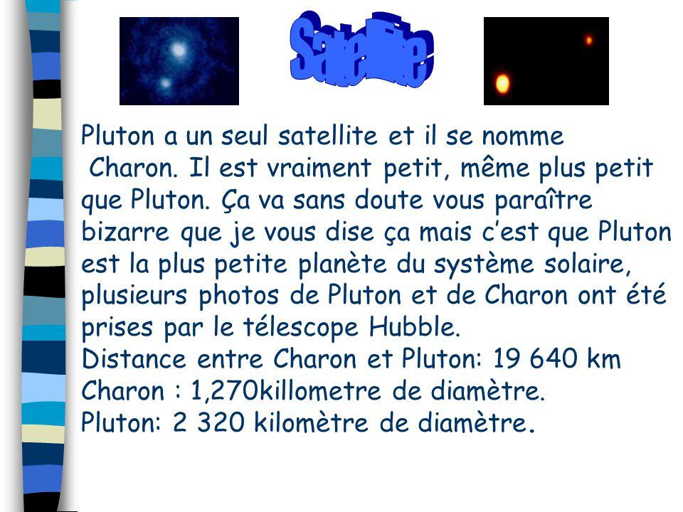 Satellite Pluton a un seul satellite et il se nomme
