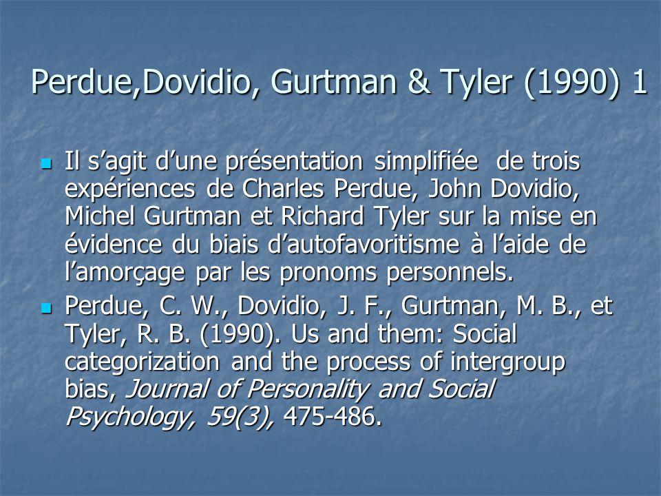 Perdue,Dovidio, Gurtman & Tyler (1990) 1