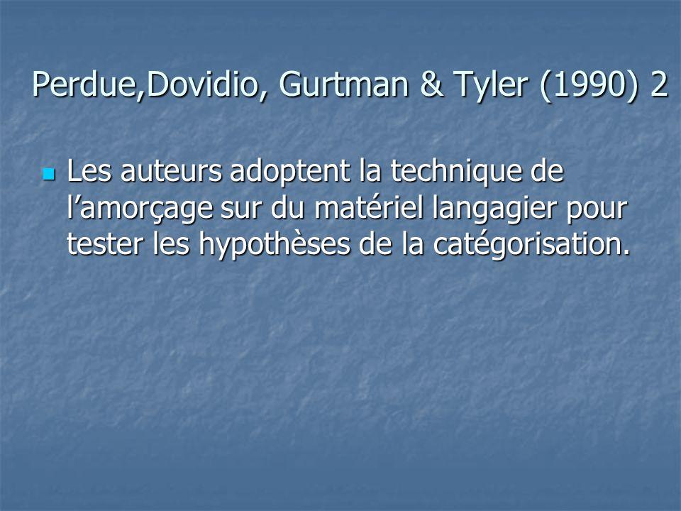 Perdue,Dovidio, Gurtman & Tyler (1990) 2