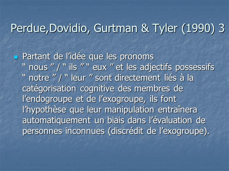 Perdue,Dovidio, Gurtman & Tyler (1990) 3