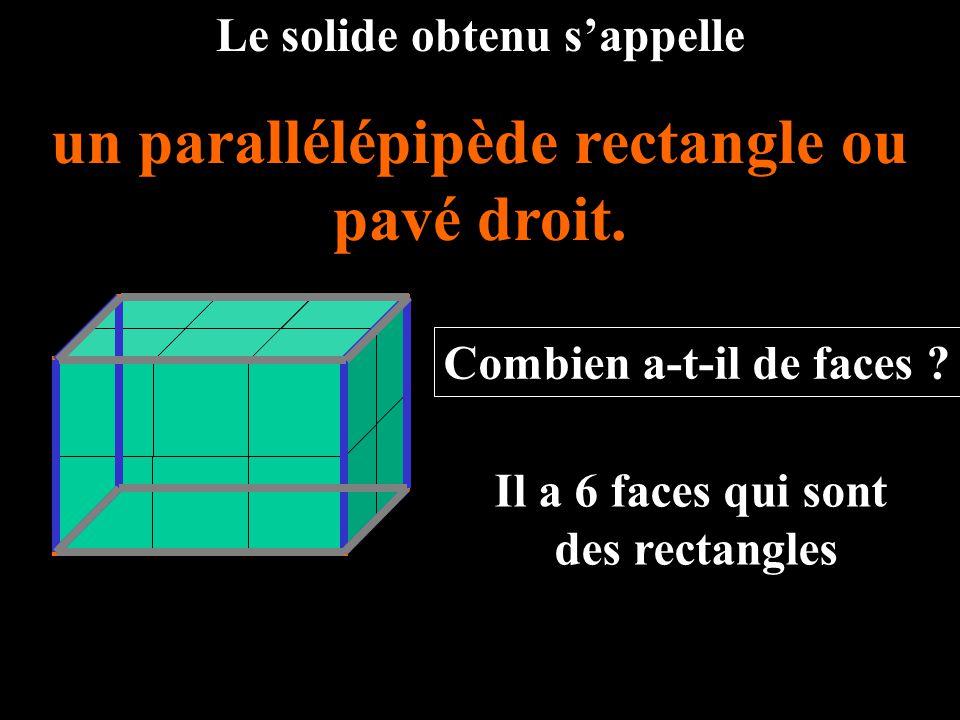 un parallélépipède rectangle ou pavé droit.