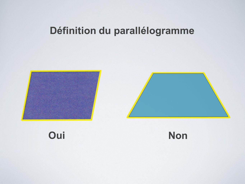 Définition du parallélogramme