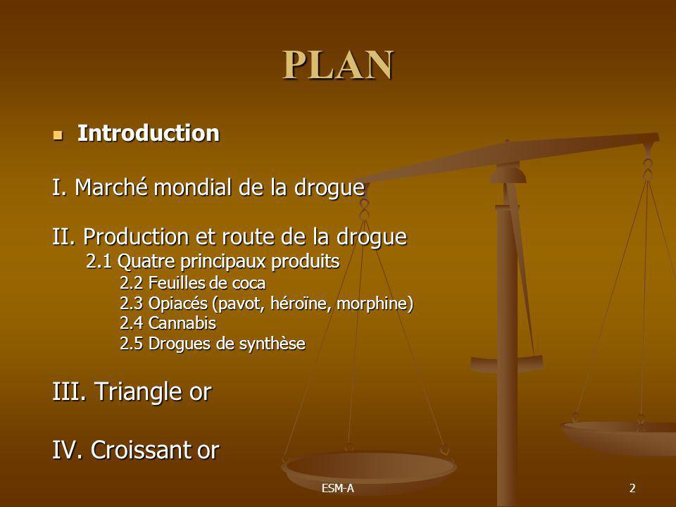 PLAN III. Triangle or IV. Croissant or Introduction