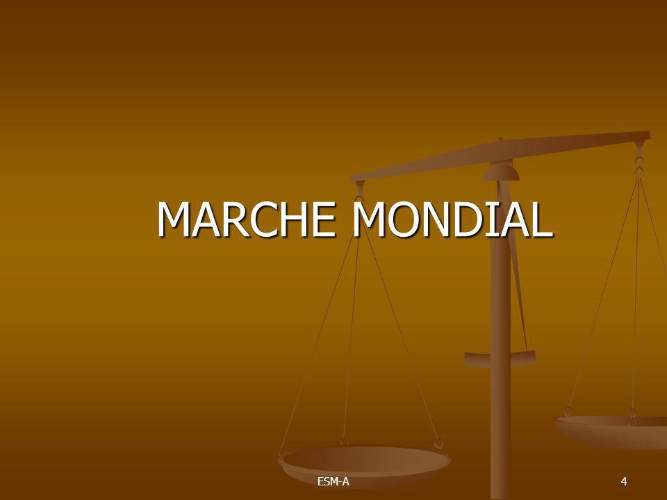 MARCHE MONDIAL ESM-A