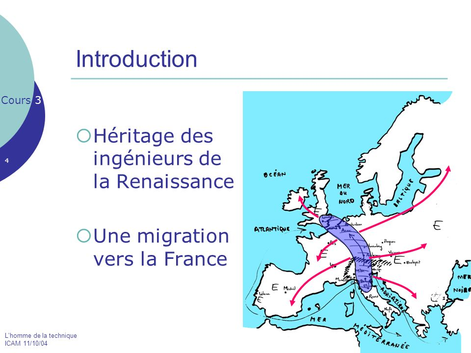 Introduction Héritage des ingénieurs de la Renaissance