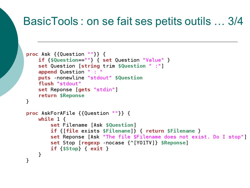 BasicTools : on se fait ses petits outils … 3/4