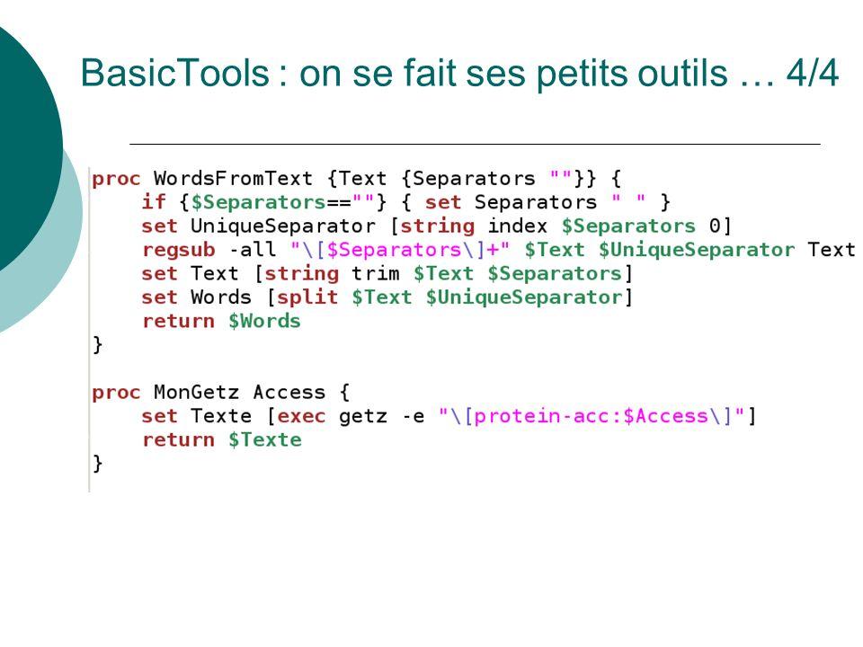 BasicTools : on se fait ses petits outils … 4/4