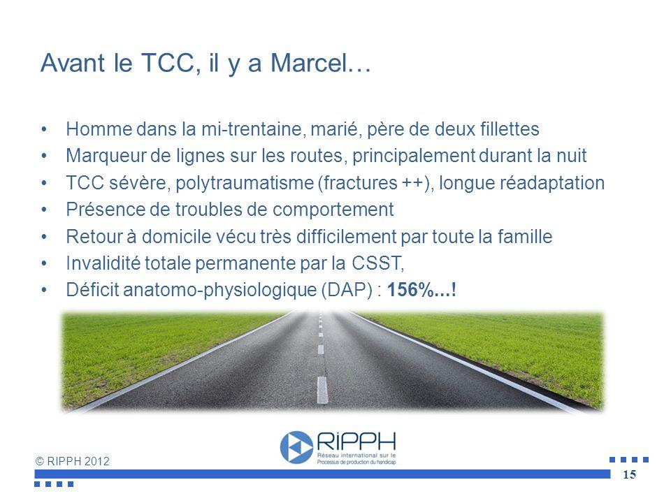 Avant le TCC, il y a Marcel…
