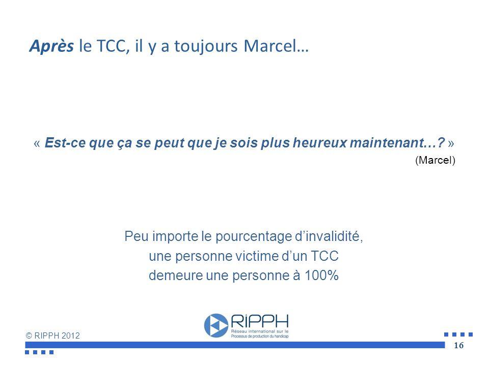 Après le TCC, il y a toujours Marcel…