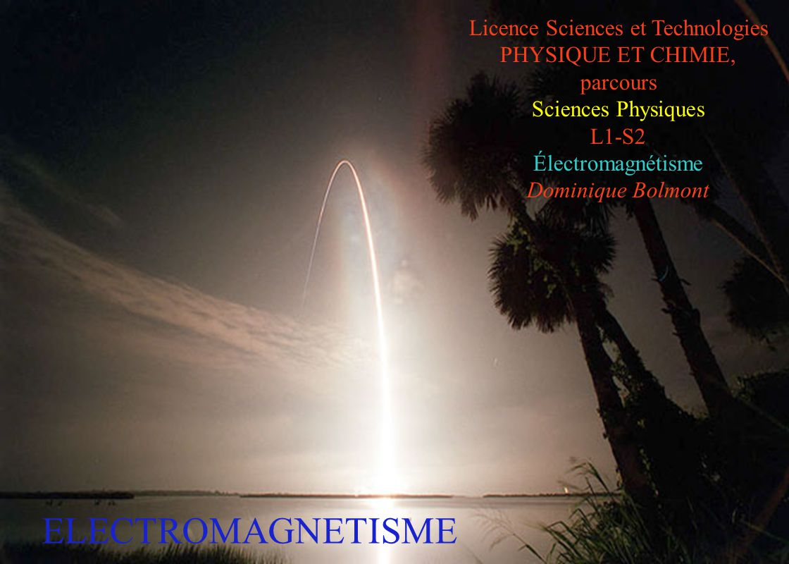 Licence Sciences et Technologies