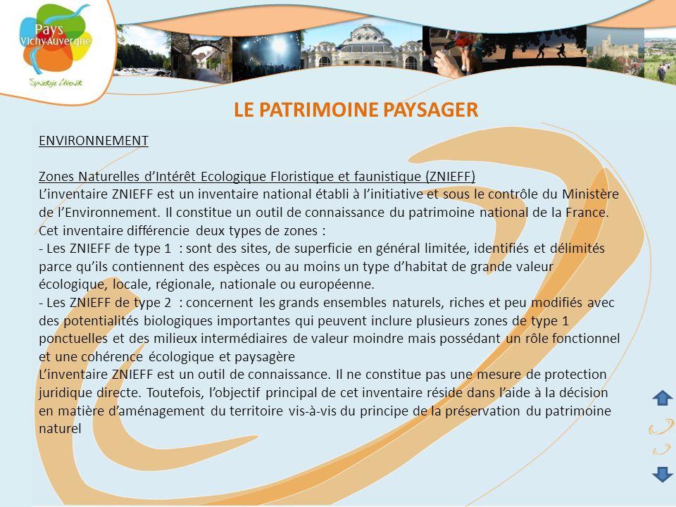 LE PATRIMOINE PAYSAGER