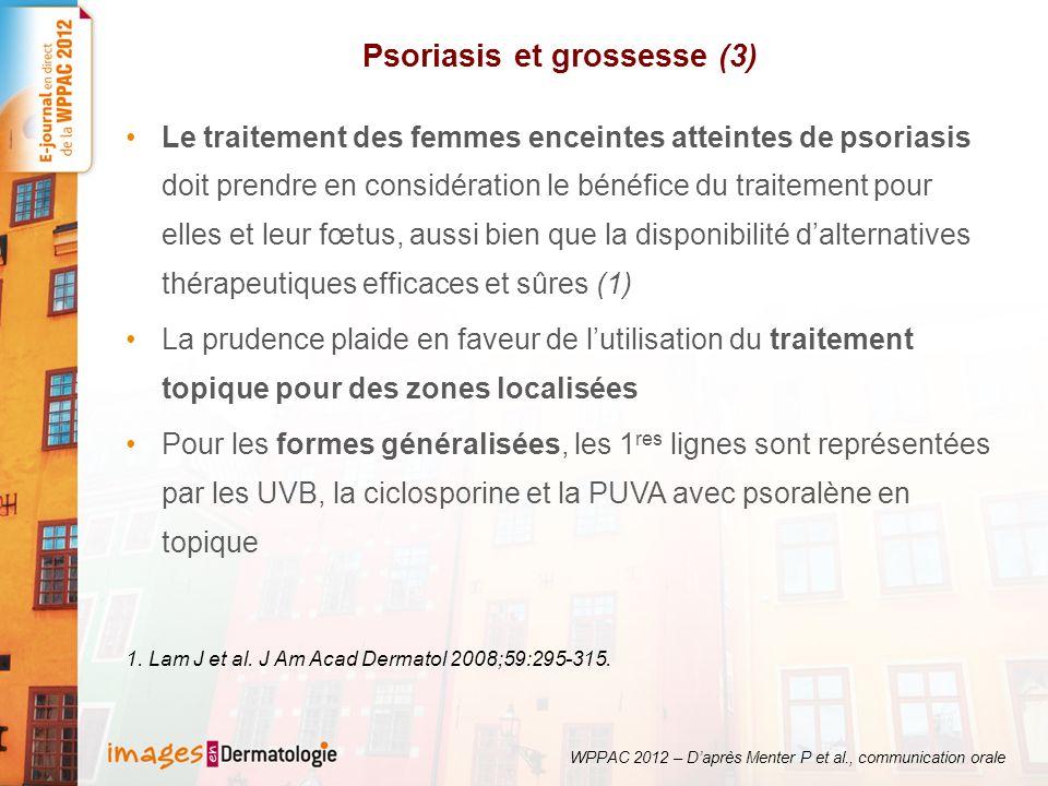 Psoriasis et grossesse (3)