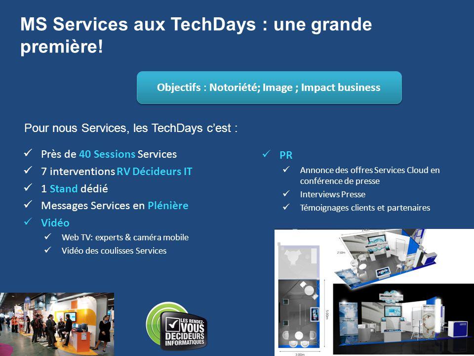 MS Services aux TechDays : une grande première!