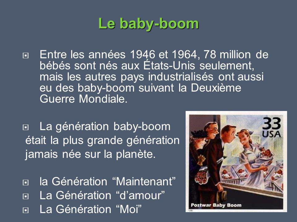 Le baby-boom