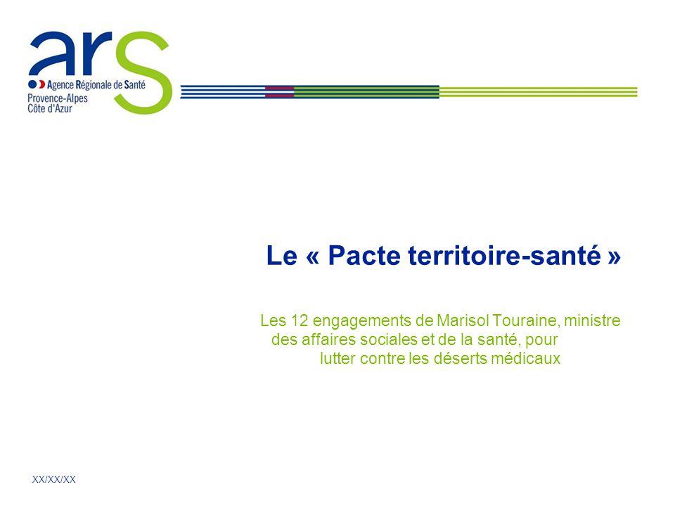 Le « Pacte territoire-santé »