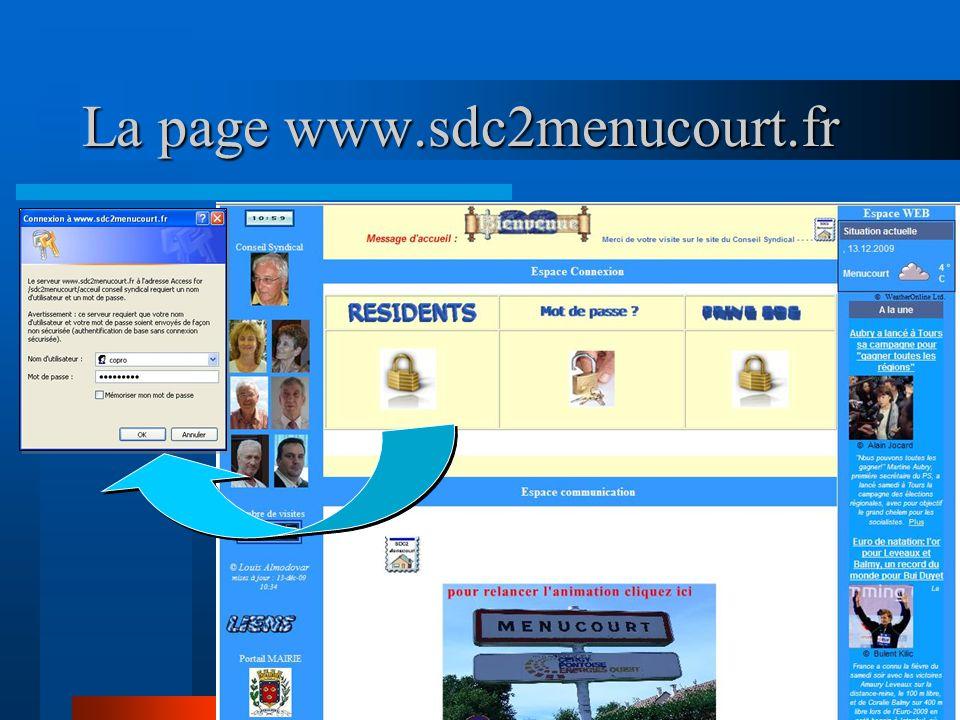 La page www.sdc2menucourt.fr