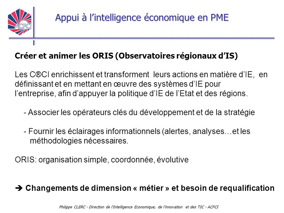 Créer et animer les ORIS (Observatoires régionaux d'IS)