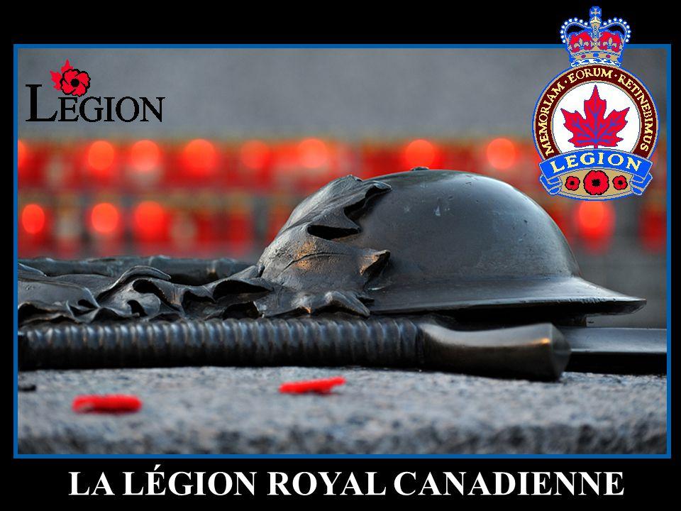 LA LÉGION ROYAL CANADIENNE