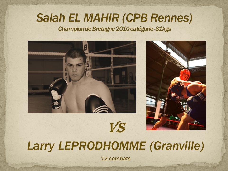 Salah EL MAHIR (CPB Rennes) Champion de Bretagne 2010 catégorie -81kgs