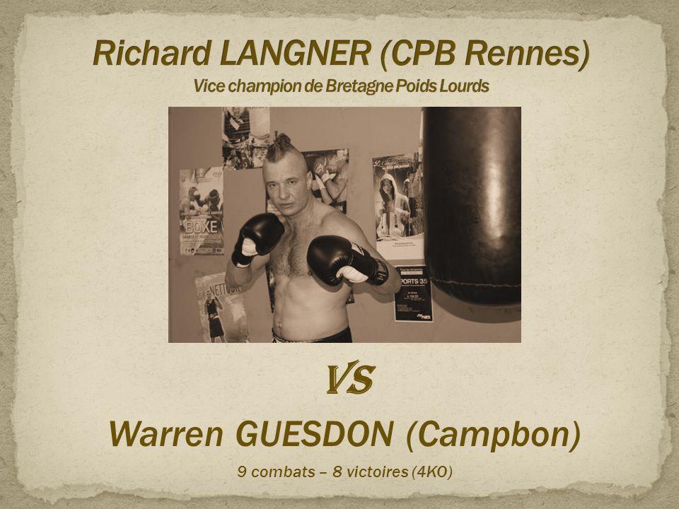 Richard LANGNER (CPB Rennes) Vice champion de Bretagne Poids Lourds