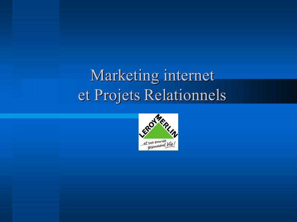 Marketing internet et Projets Relationnels