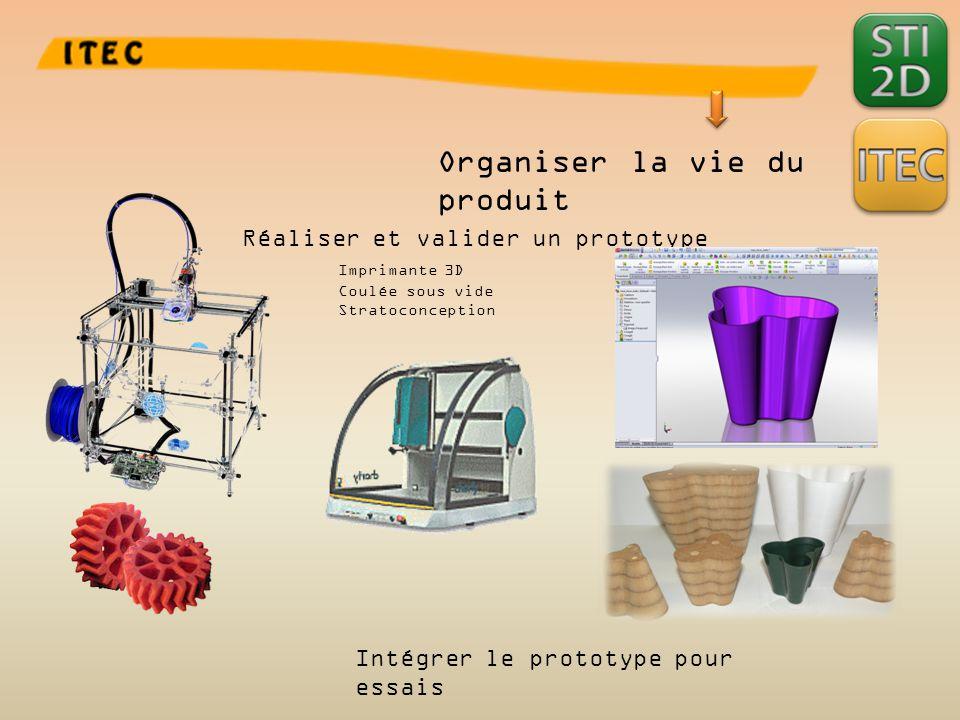 Organiser la vie du produit