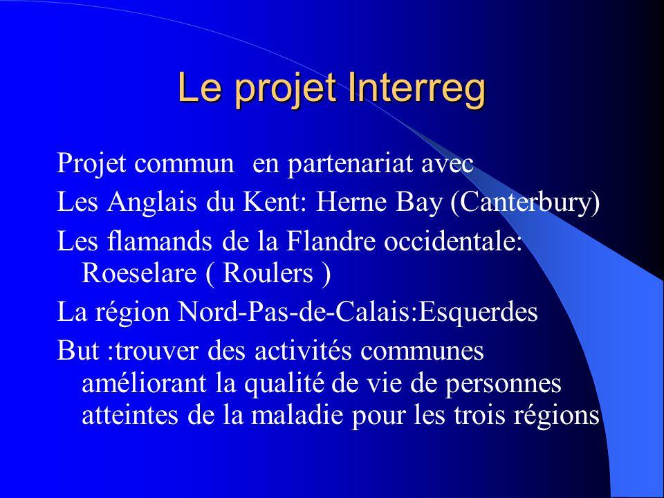 Le projet Interreg Projet commun en partenariat avec