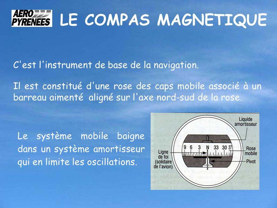 LE COMPAS MAGNETIQUE C est l instrument de base de la navigation.